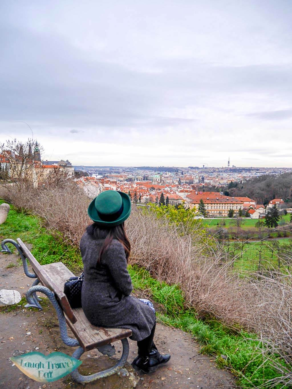 Petrin Hill, Prague, Czech Republic - a panoramic view of the city - Laugh Travel Eat