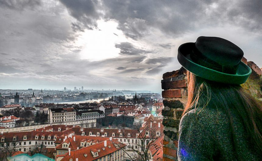 panoramic view near Hradcany prague czech republic - laugh travel eat (1 of 1)
