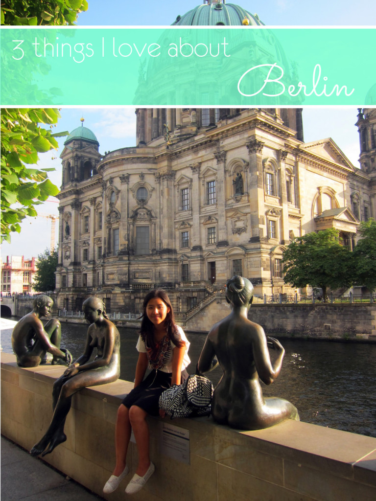 3 things I love about Berlin