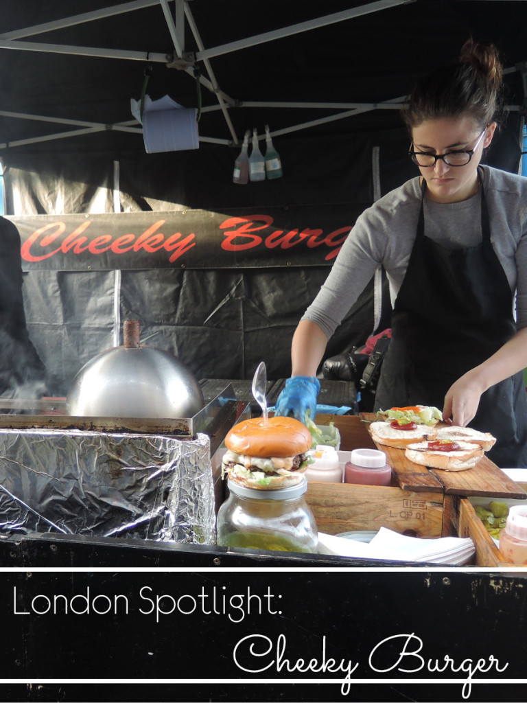 London Spotlight CHeeky burger