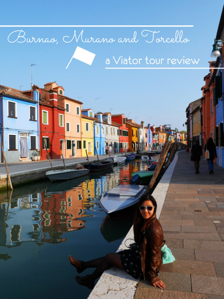 A day trip from Venice to see the beautiful islands of Burano, Murano and Torcello with a Viator Trip. Making the most out of our time in Venice, Italy