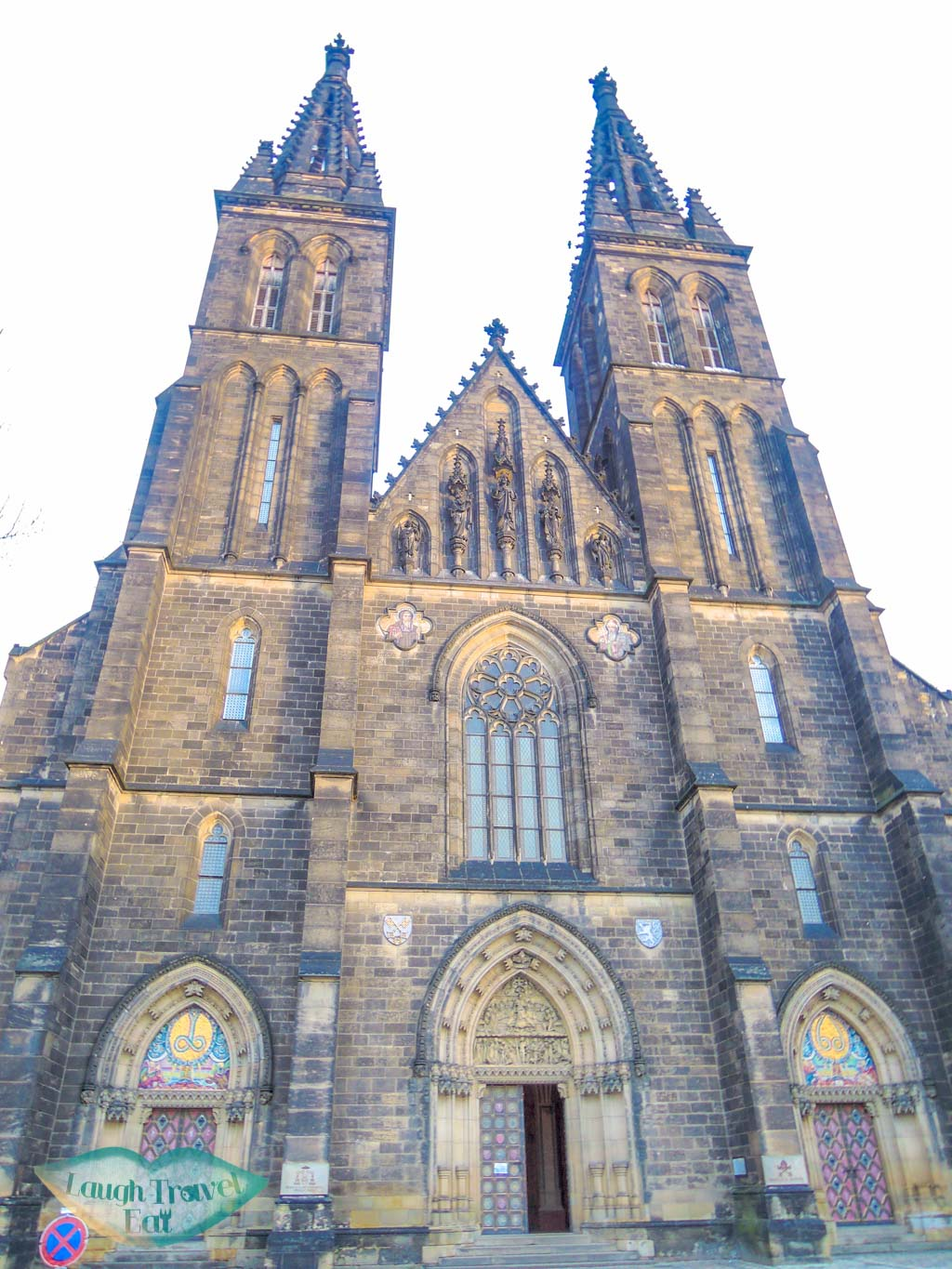 St Peter and Paul ChurchVyshrad Prague Czech Republic Europe - laugh travel eat