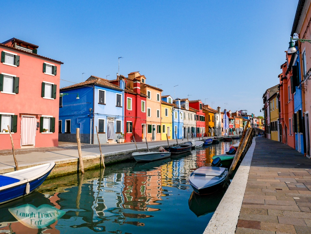 burano colourful houses Venice Italy - laugh travel eat