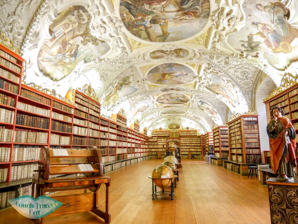 clear theological Hall Strahovs Library Prague Czech Republic Europe - laugh travel eat