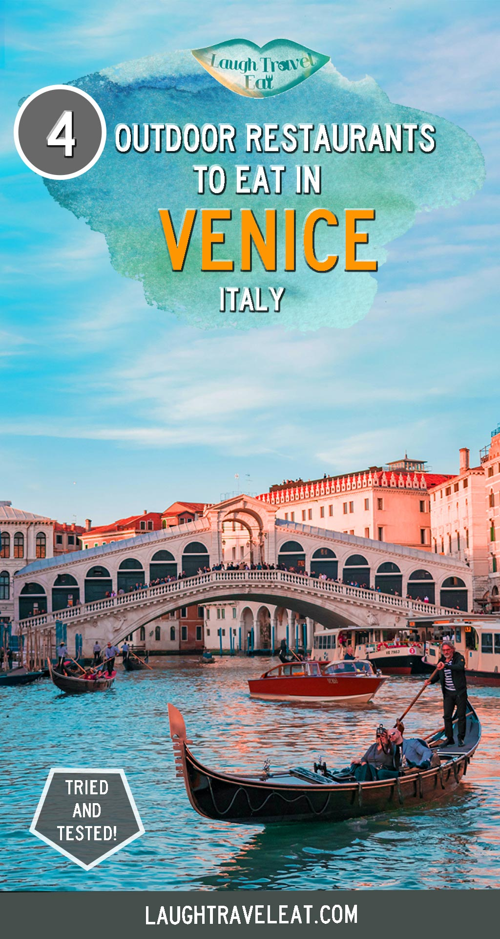 Venice is a picturesque city in itself, but there are some better than others. To fully enjoy the atmosphere of Venice, here are 4 outdoor restaurants that would make for a perfect little lunch spot: #Venice #Italy #foodie