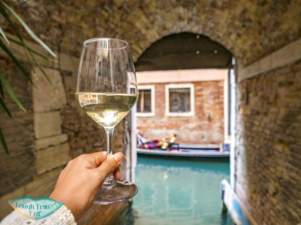 proseco and cicchetti second stop the tour guide food tour venice italy - laugh travel eat-2