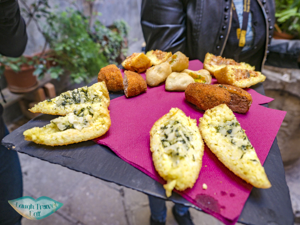 proseco and cicchetti second stop the tour guide food tour venice italy - laugh travel eat-3