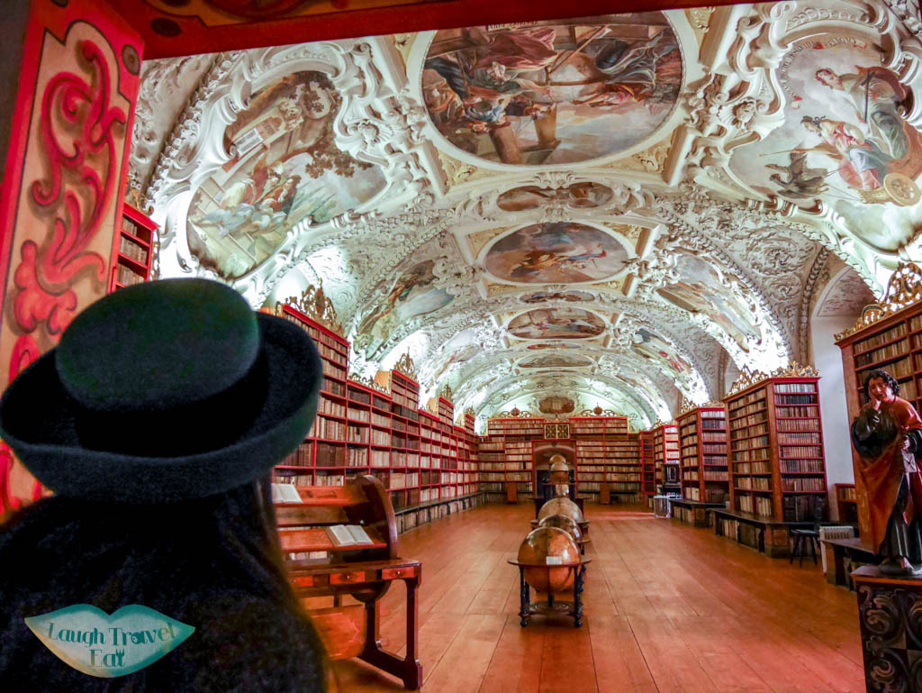 theological Hall Strahovs Library Prague Czech Republic Europe - laugh travel eat