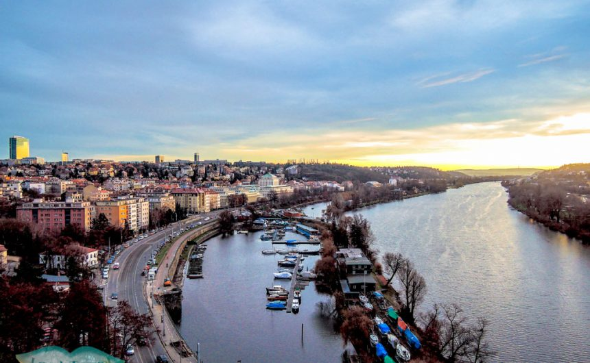 view from Vyshrad Prague Czech Republic Europe - laugh travel eat
