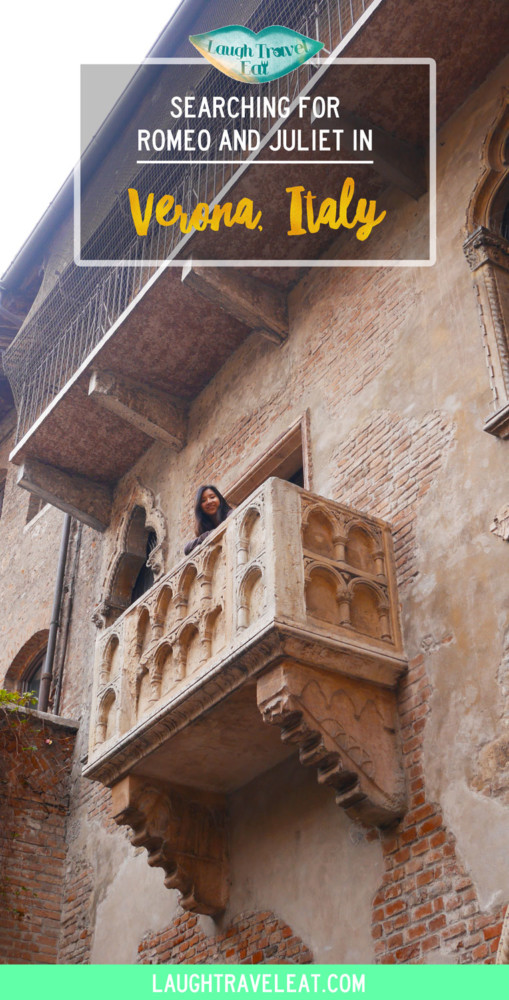 Searching for Romeo and Juliet in Verona | Laugh Travel Eat