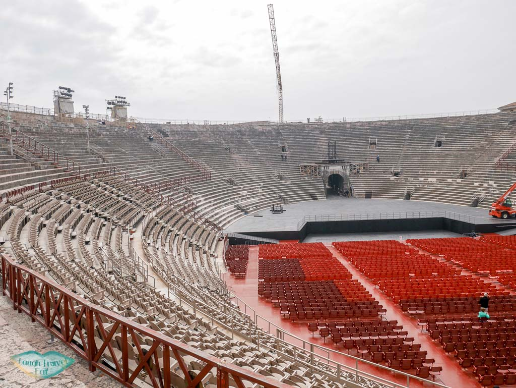 inside the verona arena verona italy