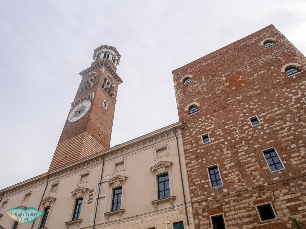 torre dei Lamberti verona italy | Laugh Travel Eat