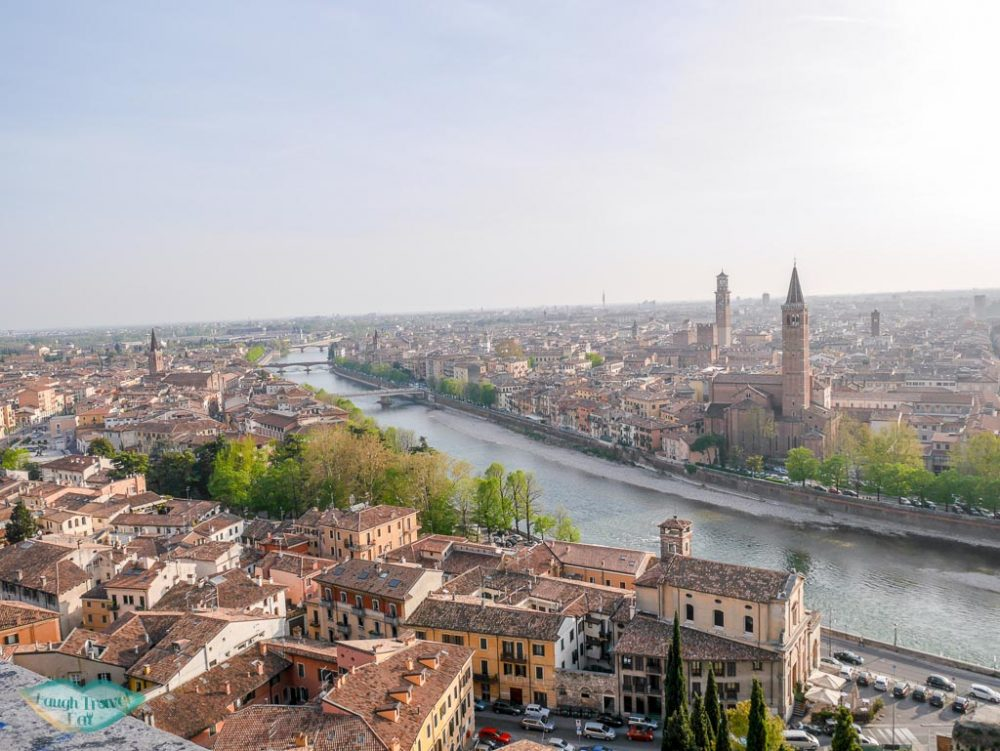 view from castel san pietro verona italy | Laugh Travel Eat