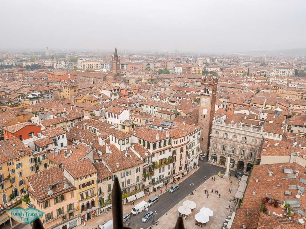 view from torre dei lamberti verona italy | Laugh Travel Eat
