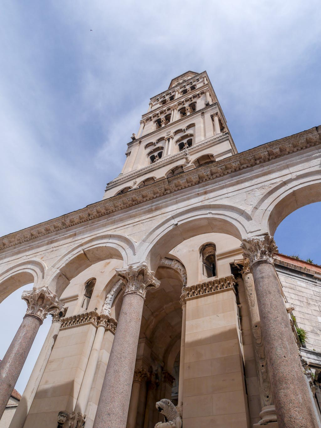 The Cathedral of St Dominus diocletians palace split croatia