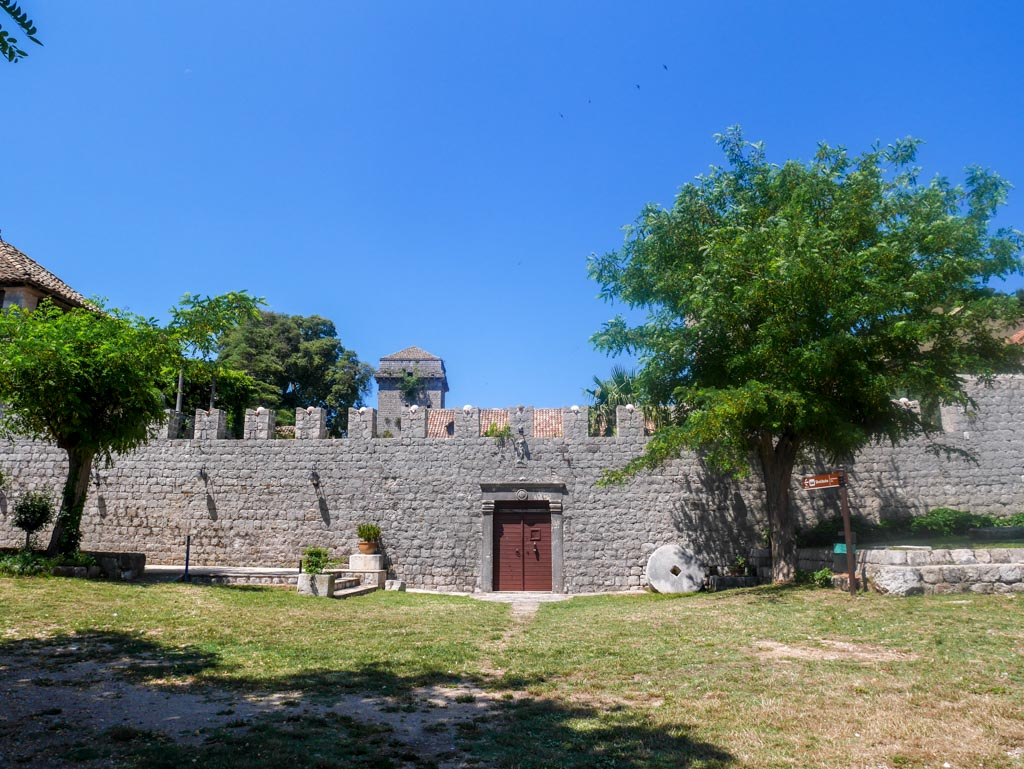 a historical house on the sipan island elaphiti island croatia