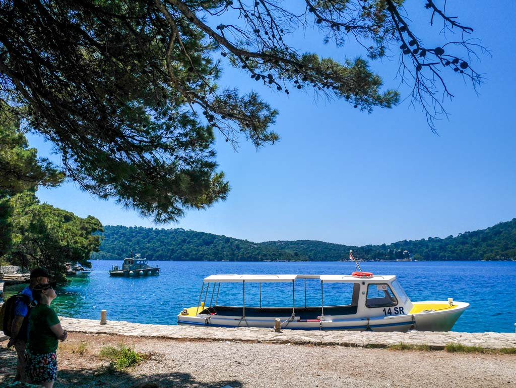 tourist boats for st mary island included in ticket price mljet national park croatia