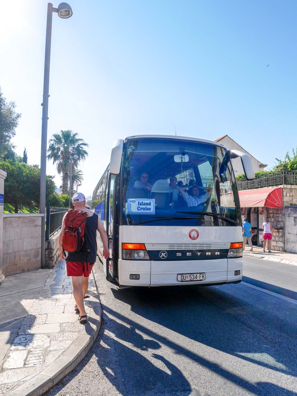 viator bus tour to elaphiti islands dubrovnik croatia