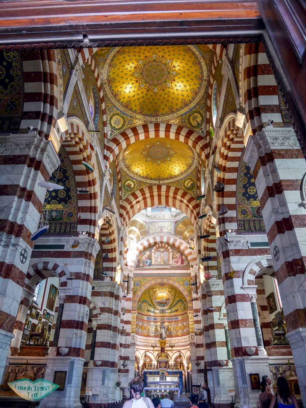 Basilique Notre-Dame de la garde interior marseille france | Laugh Travel Eat