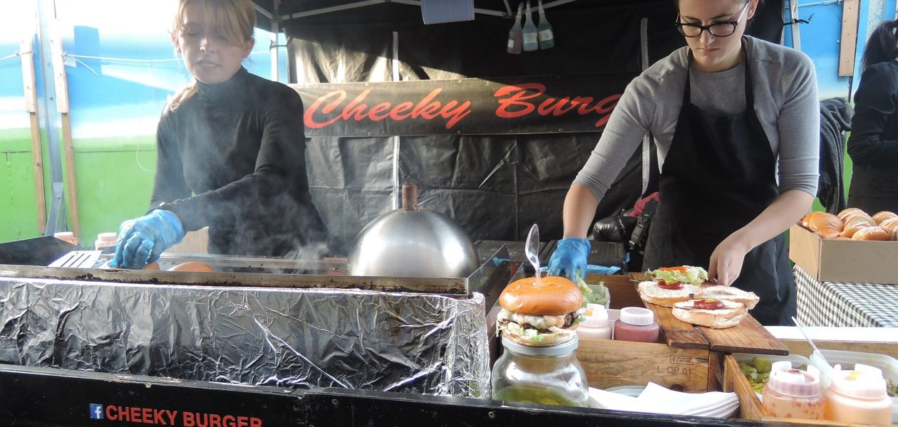 Cheeky Burger, Acklam Village, Portobello Market, London | Laugh Travel Eat