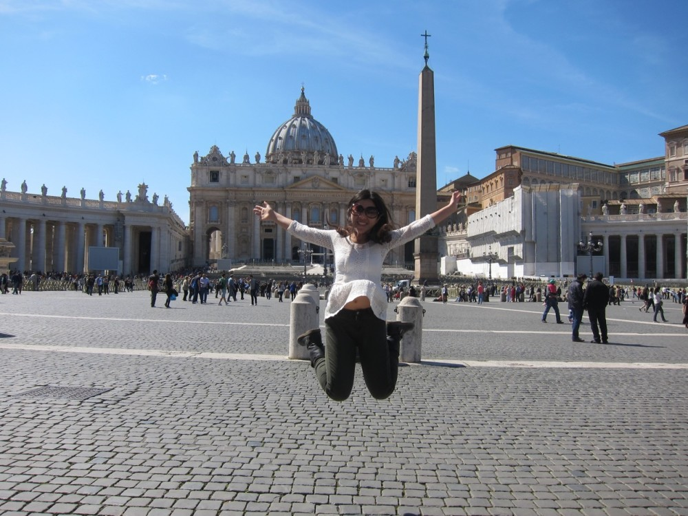 I mean, you can just imagine me posting this with the caption of : throwback to 201X when I was in Vatican, thanks for being such a great city!