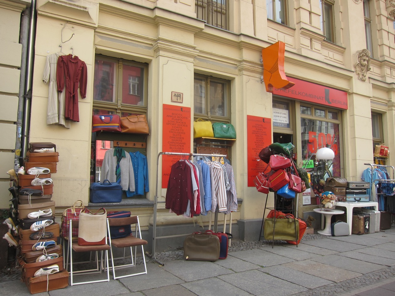 One of my favourite second hand stores in Berlin (unfortunately it has closed down)