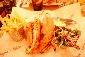 burger and lobster | 5 restaurants in London that I freqeunted as a study abroad student