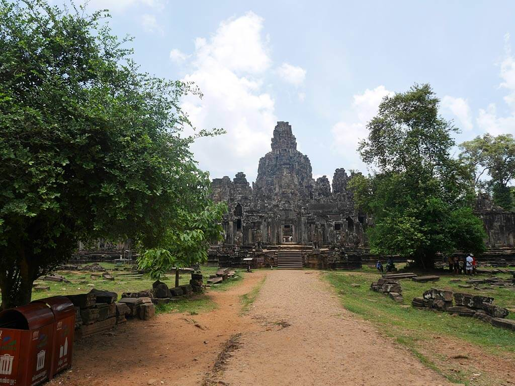 Bayon Temple, Angkor Thom, Cambodia | Laugh Travel EAt