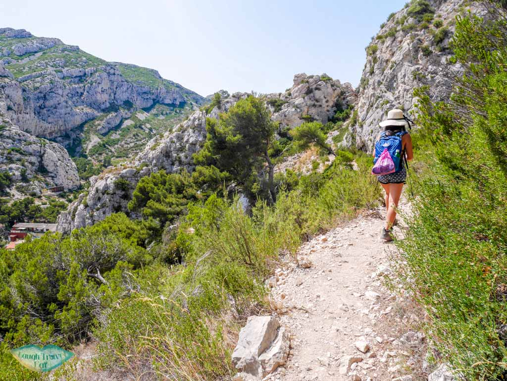 calanque de morgion path south of france | Laugh Travel Eat
