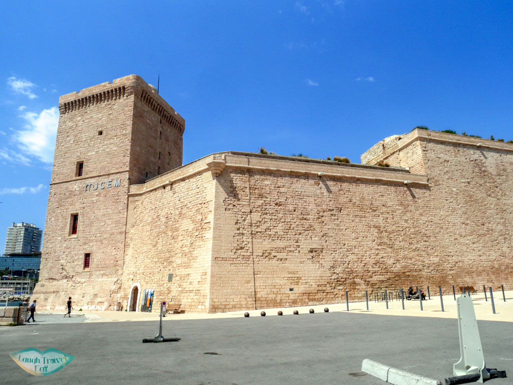 fort st jean marseille south of france | Laugh Travel Eat
