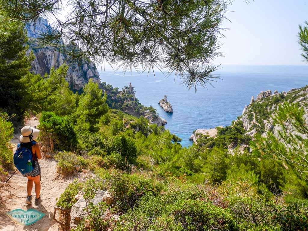 from luminy university to calanque de sugiton south of france path | Laugh Travel Eat