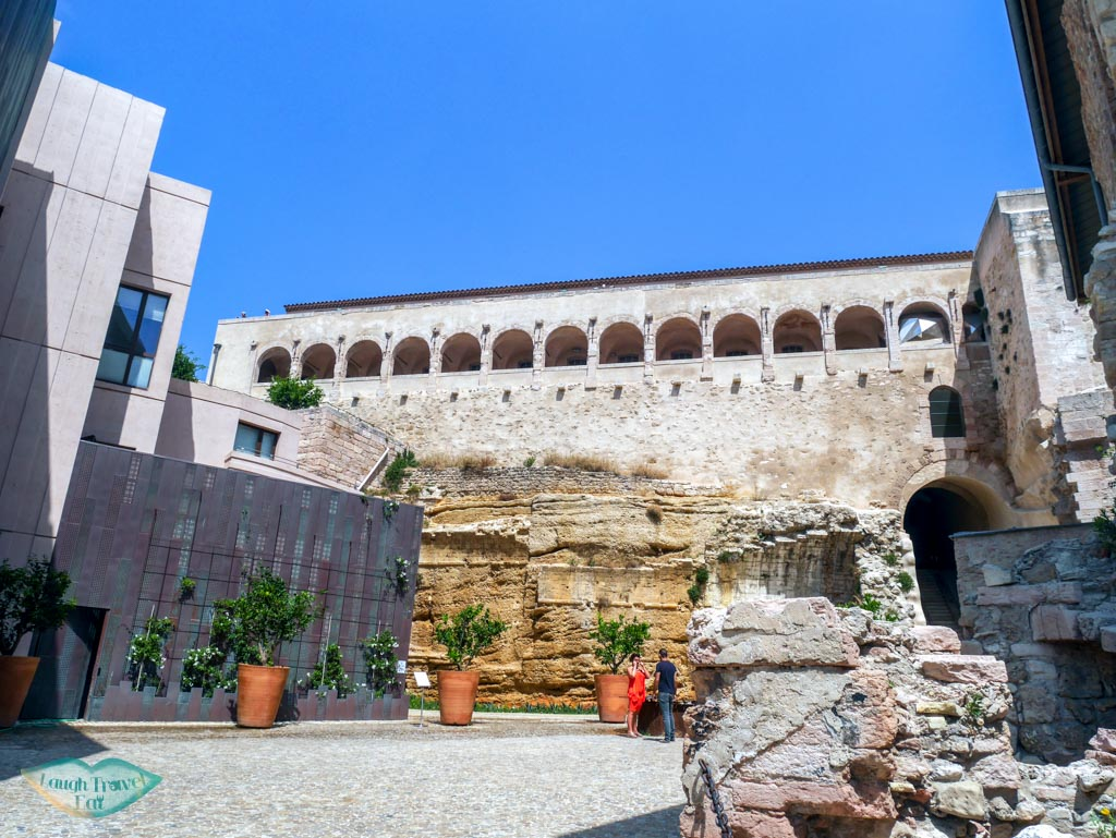 inside fort st jean marseille south of france | Laugh Travel Eat