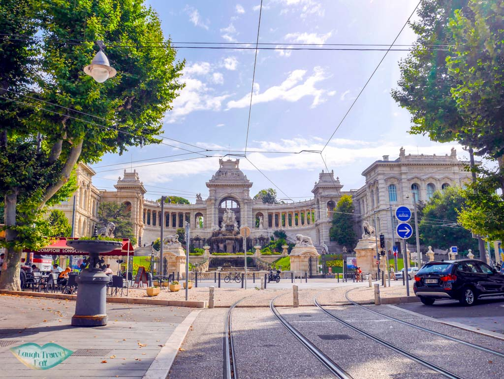 palais long champ from a distance marseille france | Laugh Travel Eat