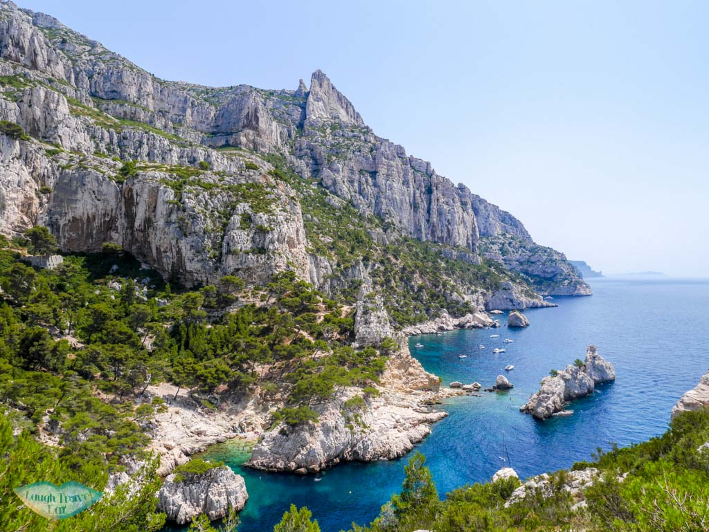 view of calanque de sugiton from calanque de sugiton to calanque de morgion | Laugh Travel Eat