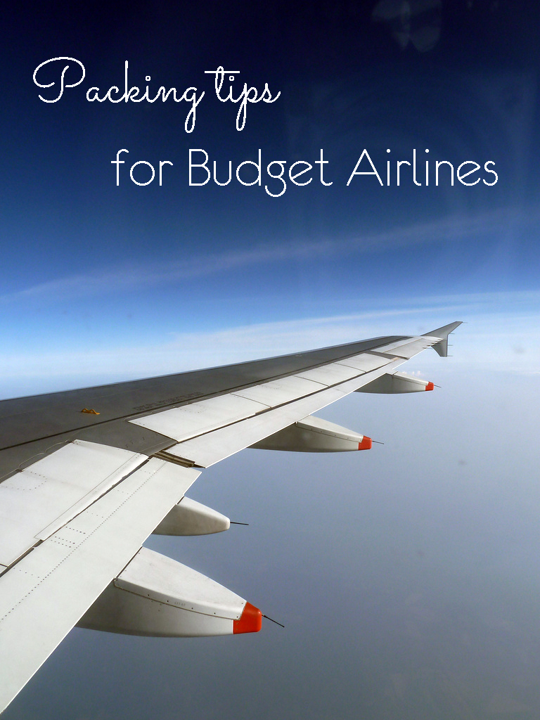 The Ultimate guide to packing for budget airline flights. Learn how to beat the hand luggage restrictions by airlines like Ryanair and Easyjet.