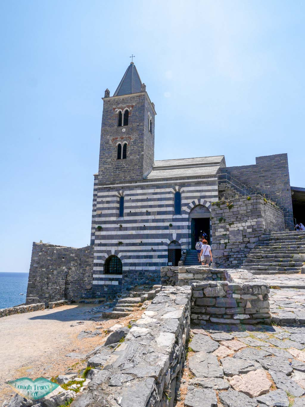 church of st peter portovenere liguria italy | Laugh Travel Eat