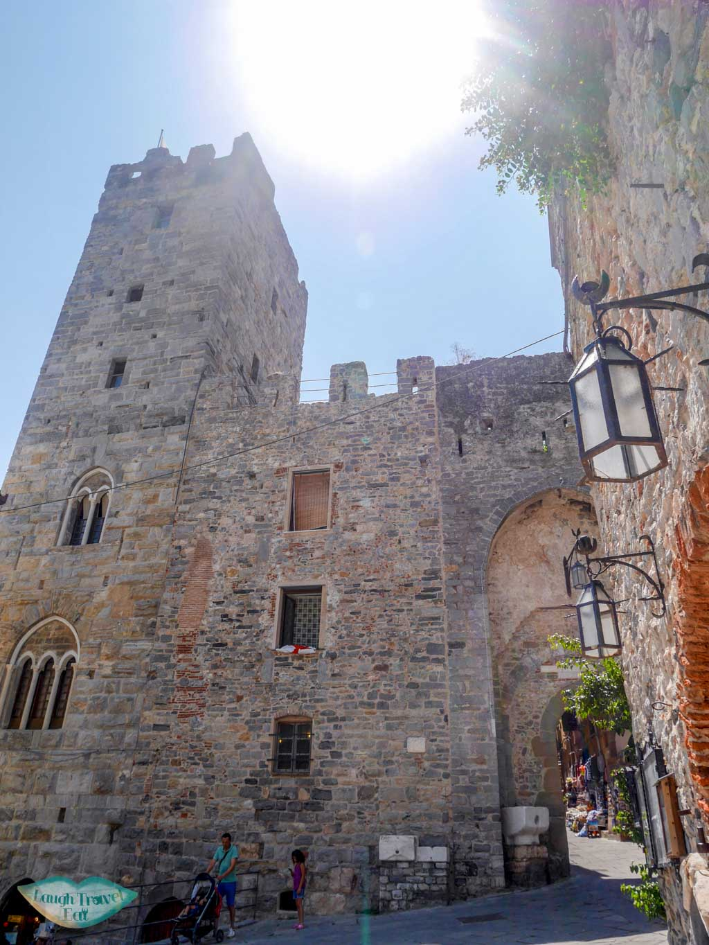 portovenere old town entrance liguria italy | Laugh Travel Eat