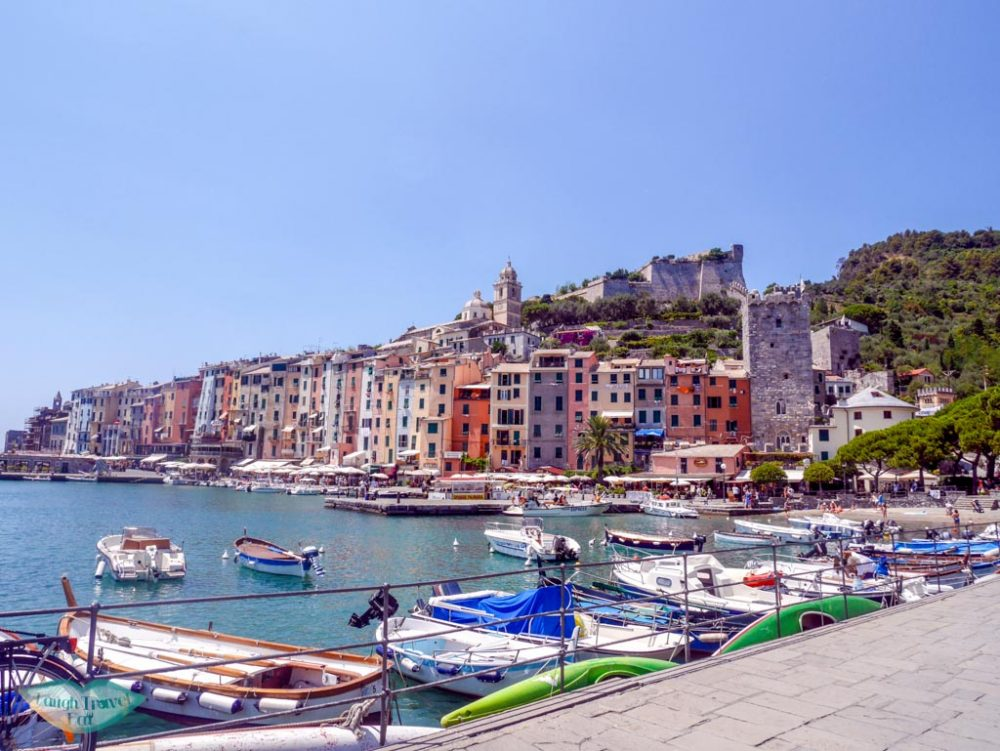 portovenere port liguria italy | Laugh Travel Eat