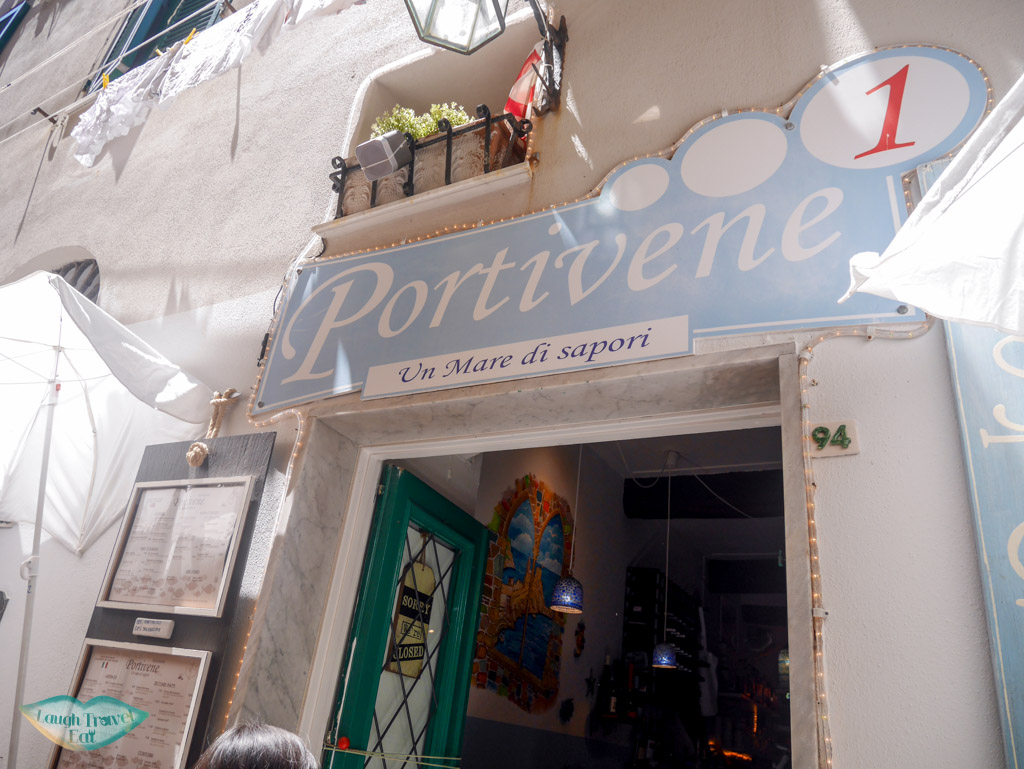 portovenere un mare di sapori restaurant liguria italy | Laugh Travel Eat