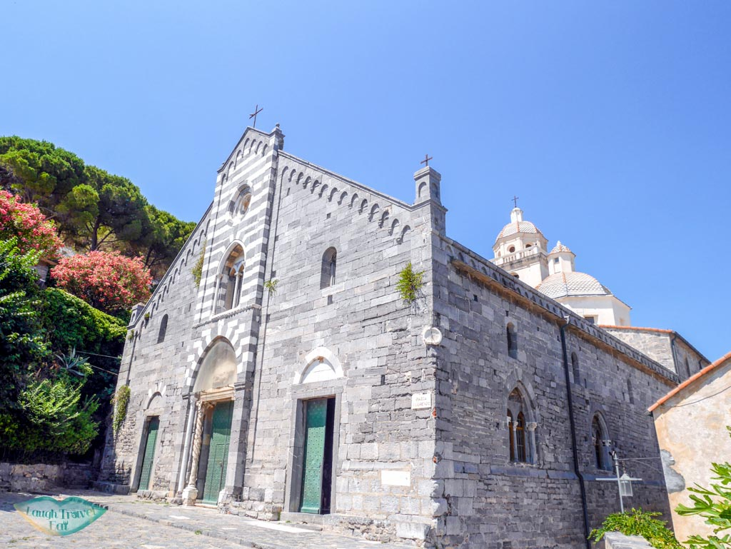san lorenzo church portovenere liguria italy | Laugh Travel Eat