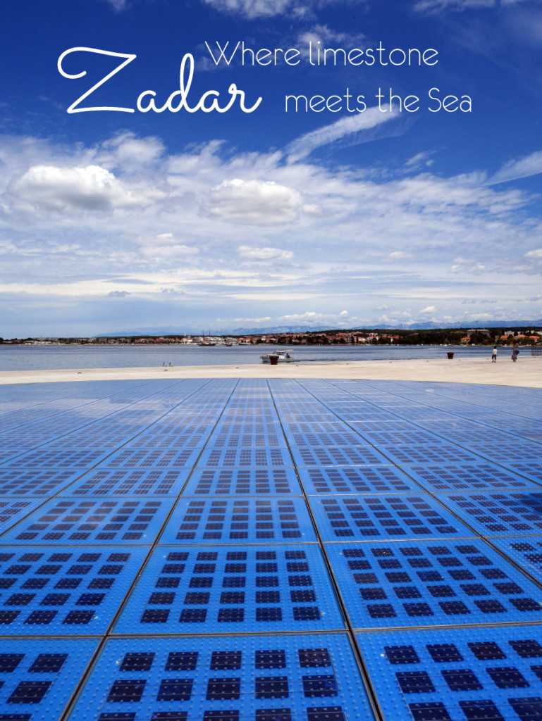 Zadar, Croatia - a place that was not originally on my itinerary until I saw the photos of Sun Salutation on Pinterest. Check out my top five places to visit in this historic city going as far back as the Roman times and why it makes the perfect start/end point of your trip to Croatia (hint: it's close to Plitvice!)
