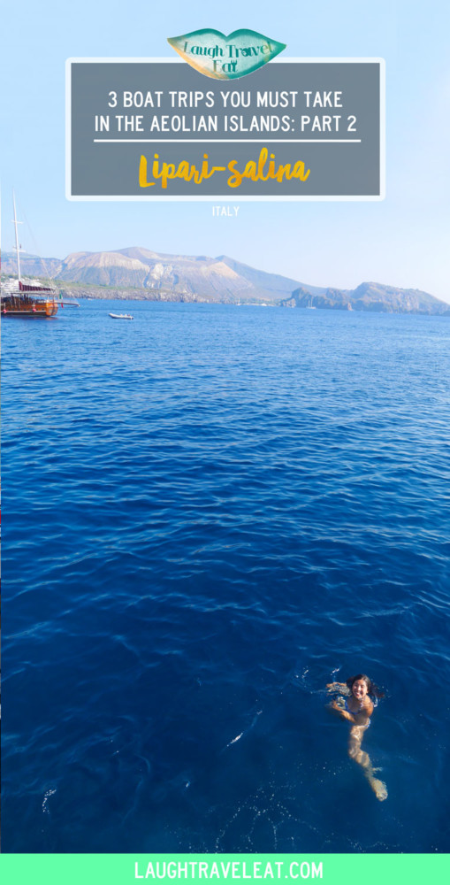 Lipari-Salina: part 2 of the 3 boat trips you must take in the Aeolian Islands