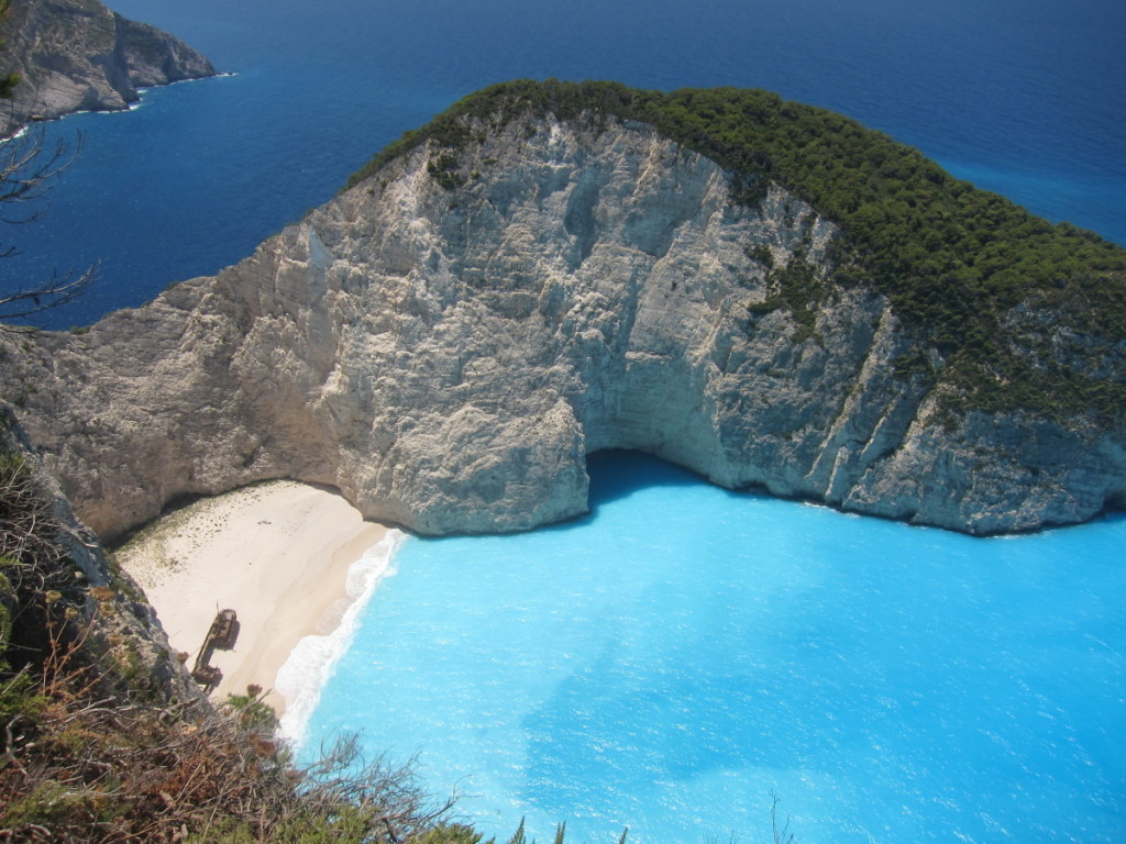 Shipwreck Beach, Zakynthos, Greece