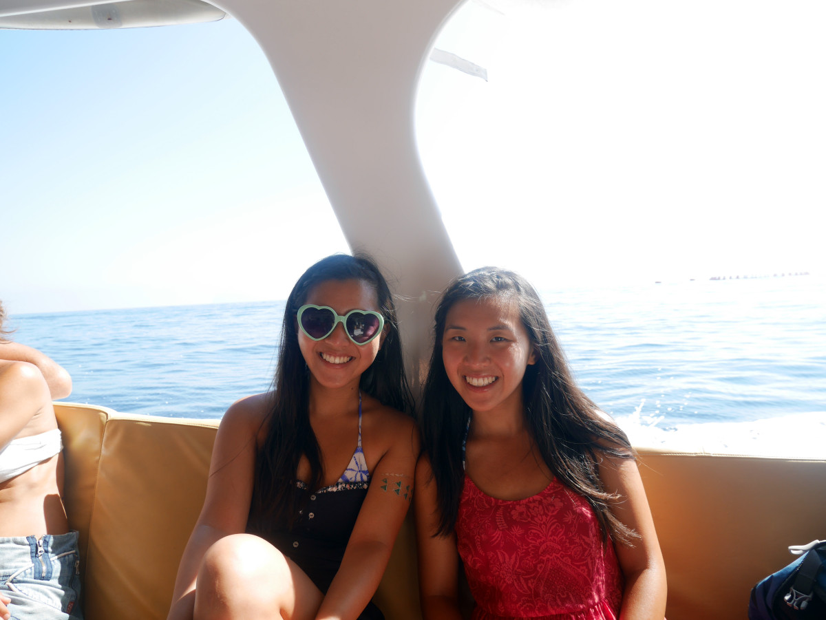 Aboard one of the many boat trips in the Aeolian Island| Laugh Travel Eat