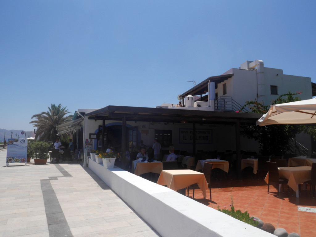 Delfino Restaurant, Salina, Aeolian Islands