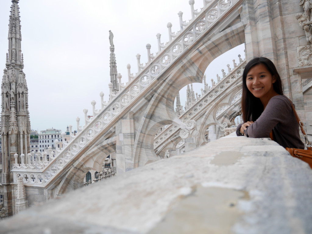 Sept 2015, Milan Cathedral, Italy, Laugh Travel Eat