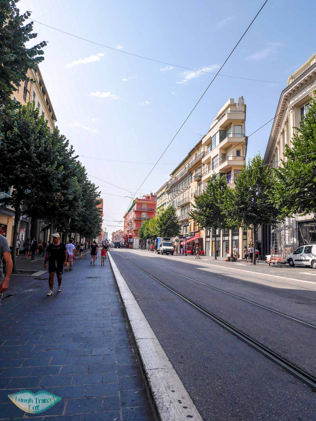 avenue jean medecin Nice south of france | Laugh Travel Eat
