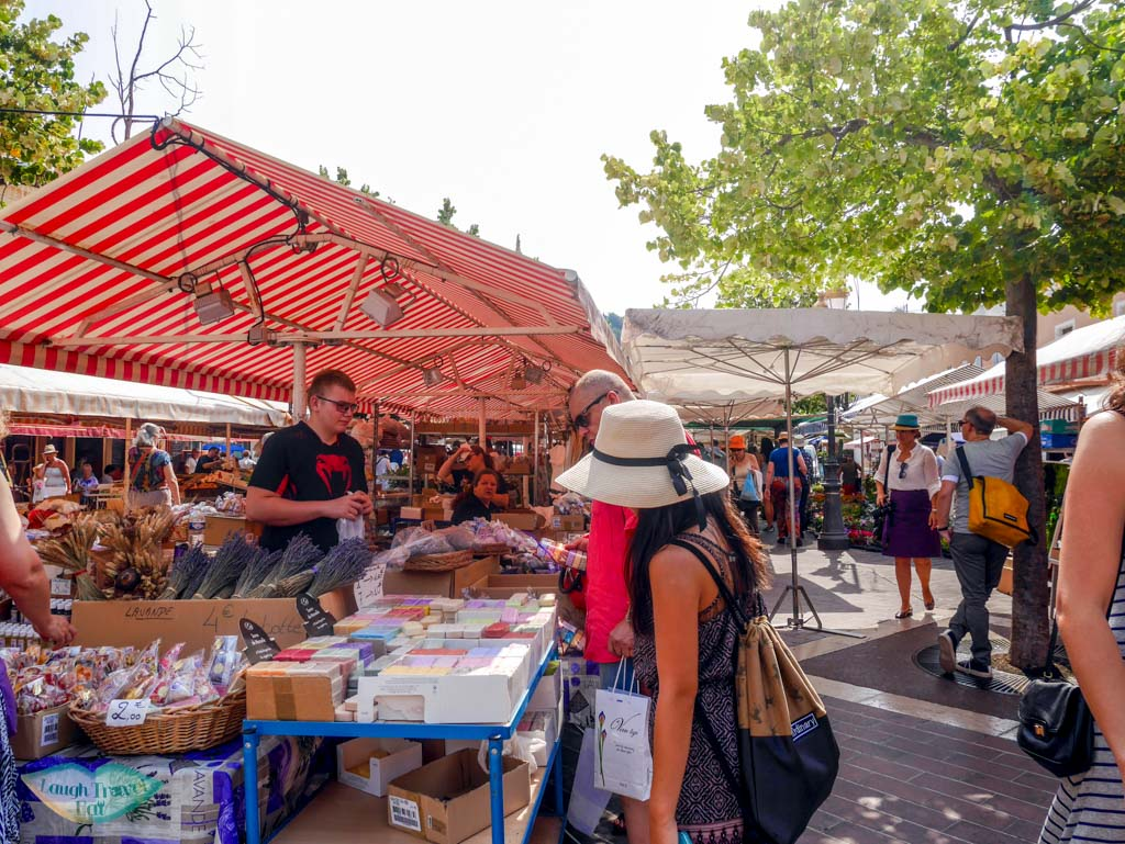 old town market nice south of france | Laugh Travel Eat