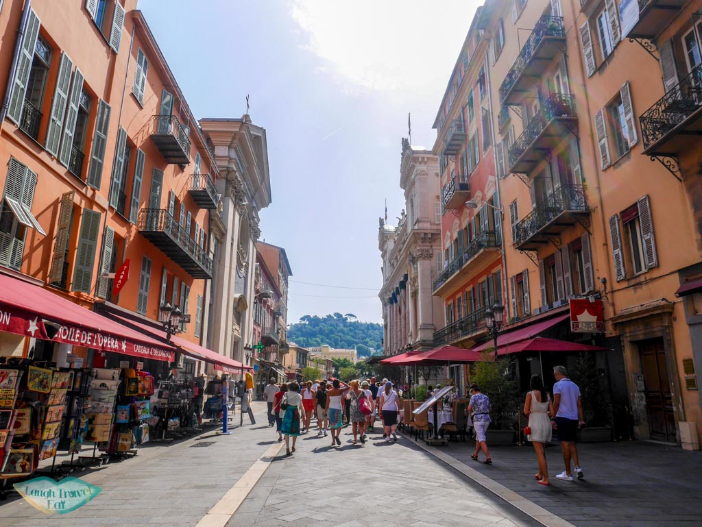 old town of nice south of france | laugh Travel Eat