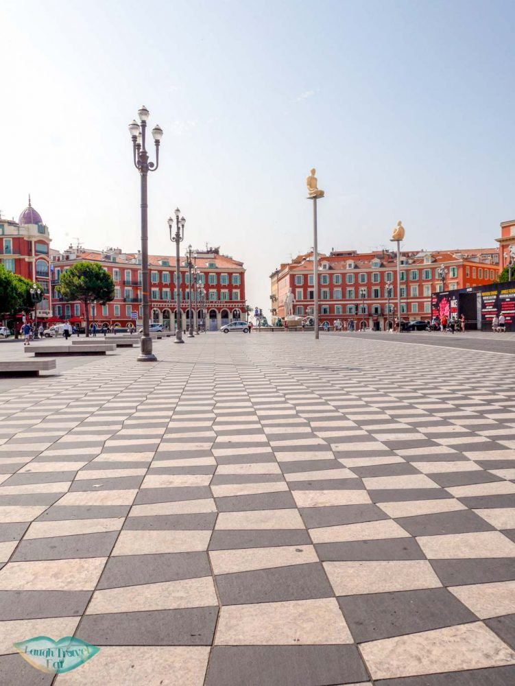 place massena nice south of france | Laugh Travel Eat